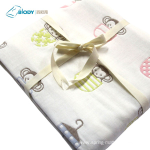 100% Original for Muslin Baby Blanket Organic Muslin Multilayer Swaddle Blankets Bamboo Cotton export to United States Factory