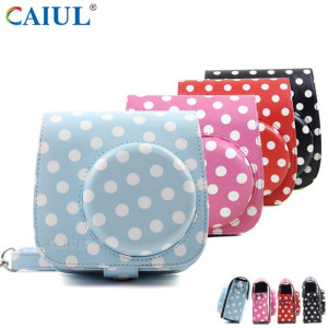 Bottom price for Printing Series Camera Bag,Sweet Style Printing Camera Bag,Polaroid Cake Pattern Camera Bag Manufacturer in China Polaroid Mini8 Wave Point Camera Bag supply to Poland Importers