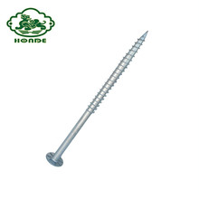 Ground Screw Pole Anchor For Solar Racking System