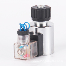 Best Quality for Electric Solenoid Coil 12 24 volt DC 220V AC Solenoid Coil export to United States Minor Outlying Islands Wholesale