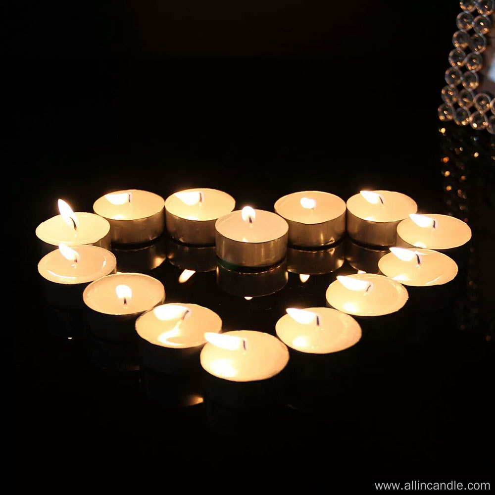 12g 4hour buring No smell White tealight candle