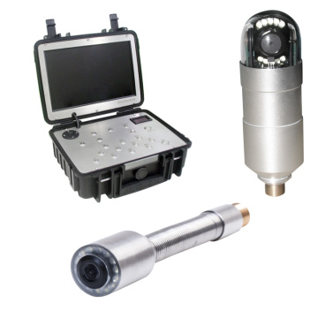Waterproof Pipe Inspection Camera System with Transmitter Video Zoom