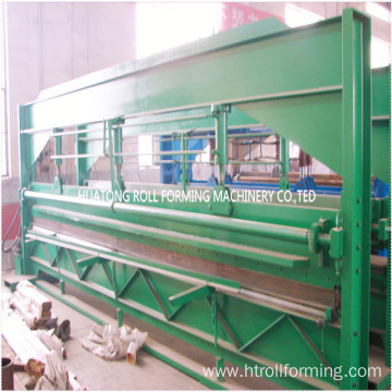 hydraulic color steel sheet metal cutting machine