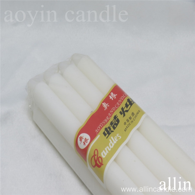 21g White Candle 8pcs wholesale to Africa