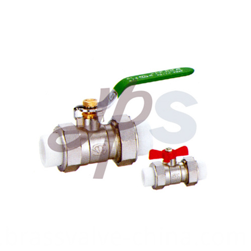 Brass Ppr Ball Valves For Ppr Pipe Connection Hb47