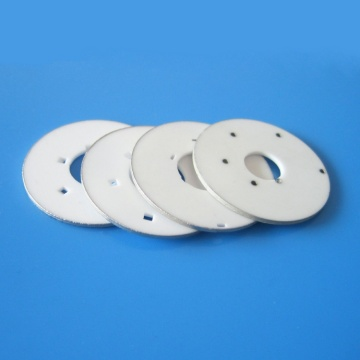 Ceramic Metallization Disk for Metal to Ceramic Joining