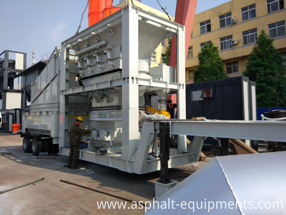 Portable asphalt plants