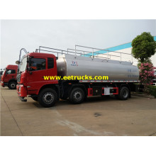 20000 Liters 6x2 Corrosive Liquid Transport Tankers
