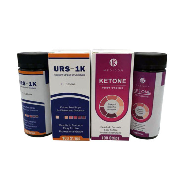 ketone test strip in urine for lose weight