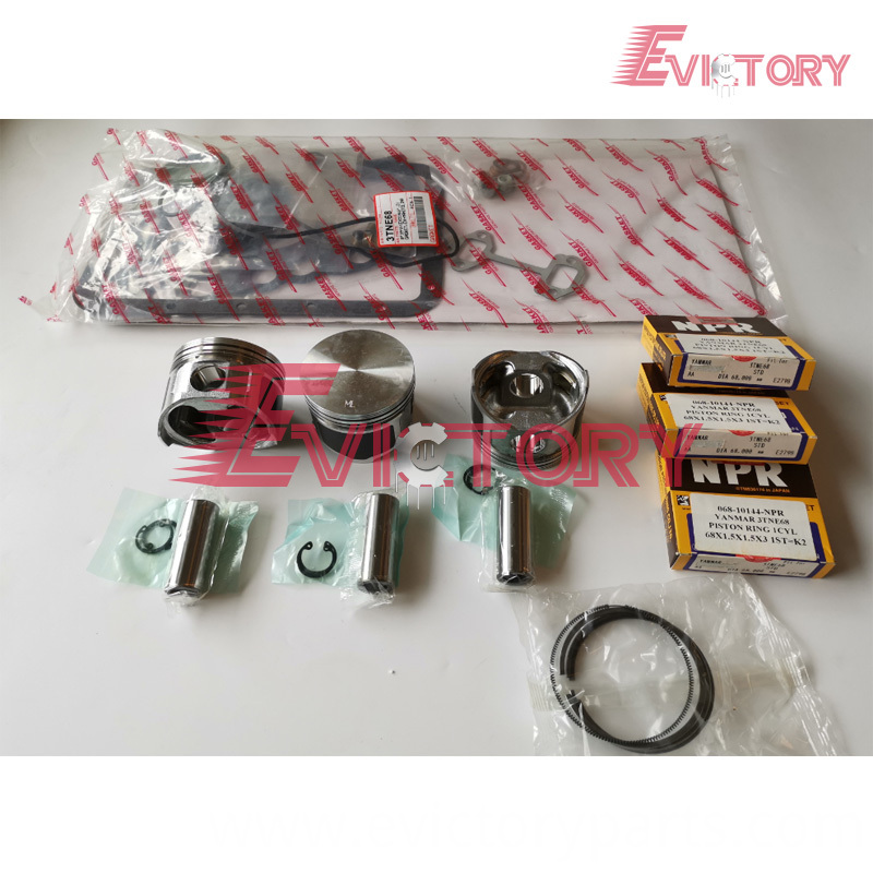 3TNE68 piston +ring +gasket
