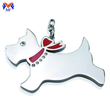 Personalized metal pet dog keychain near me
