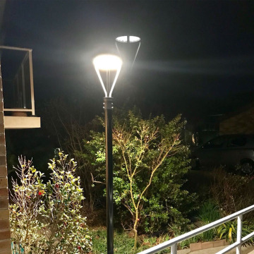 20W Intergrated Solar LED Pole Top Light