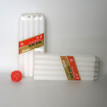 white paraffin wax stick candle for home lighting