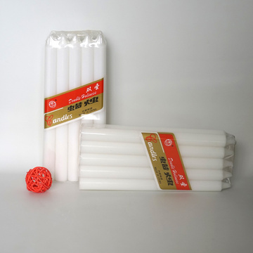 Paraffin Wax Pillar White Candles