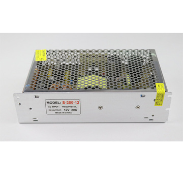 250W LED Power Supply 12v DC Output Driver