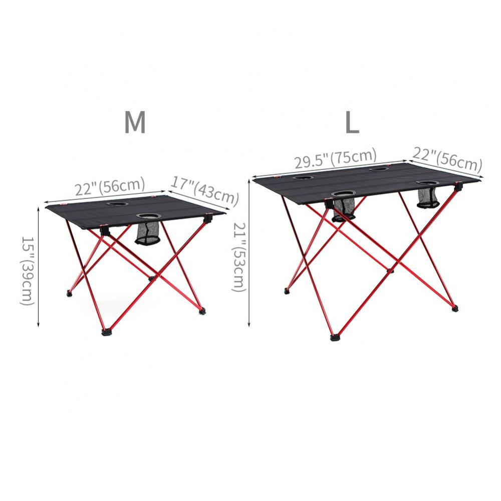 Lightweight Folding Table With Cup Holders Yyz02 2
