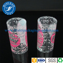 Transparent Cylinder Offset Printing Packaging