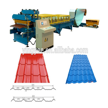 Roofing Sheet Roll Forming Machine