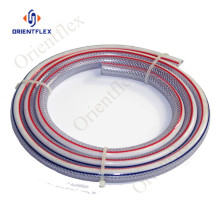 flexible plastic braided pvc non -torsion hose