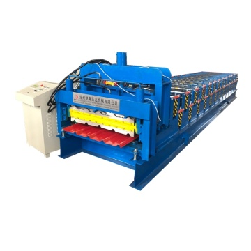 Double Layer Roof Panel Cold Making Machine