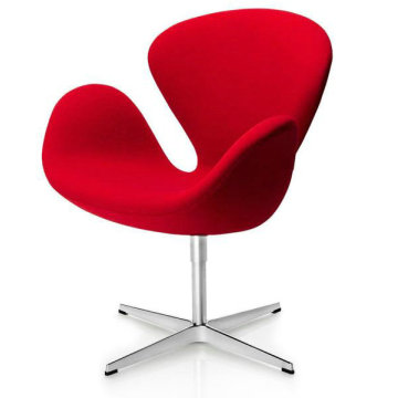 China Exporter for Supply Replica Lounge Chair,Replica Gubi Beetle Lounge Chair,Replica Plywood Lounge Chair to Your Requirements Modern mid century fabric Swan Chair export to Italy Suppliers
