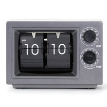 Best Quality for Table Clock Font With Light Small Television Flip Clock Grey with Light supply to Virgin Islands (U.S.) Supplier