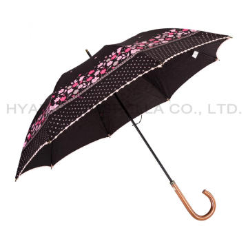 Flower Picot Lace Parasol Women's Sakura Umbrella