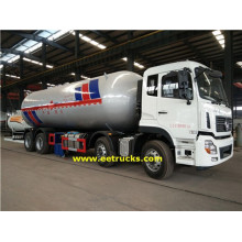 Customized for 35M3 Lpg Propane Delivery Trucks 12 Wheeler 9000 Gallon LPG Bobtail Tankers export to New Caledonia Suppliers