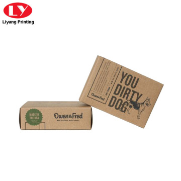 Cheap Kraft Paper Soap Boxes with Printed