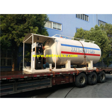 20000l Affordable Autogas Portable Skid Stations