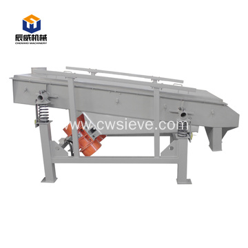 Low price brick kaolin clay linear vibrating sieve