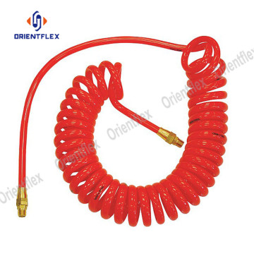 Light weight multi-function PA coiled air hose