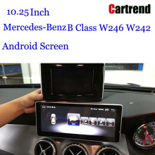 10.25 Navigationsdisplay til Mercedes-Benz B Class