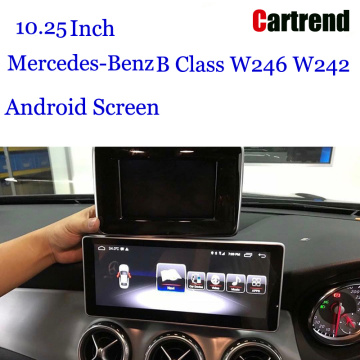 China OEM for Mercedes-Benz Car Multimedia System 10.25 Navigation display for Mercedes-Benz B Class supply to Pitcairn Supplier