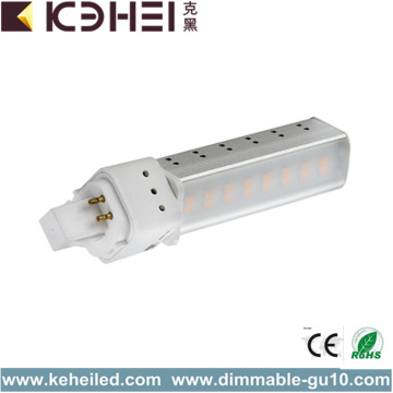 8W G24 LED Tube Light with Rotable Socket
