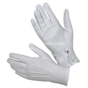 200gsm White Cotton Ladies Waiters Gloves