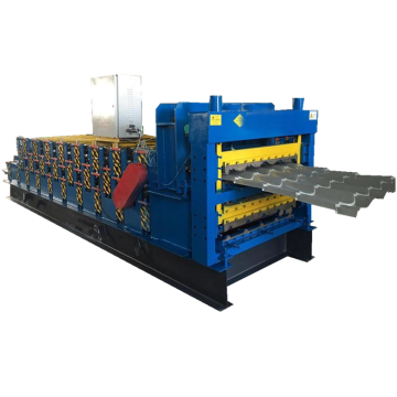 Three layers cold steel sheet roll forming machinery