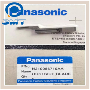 Best Quality for China Panasonic Ai Equipment Spare Parts,Panasonic Rl132 Machine Spare Parts,Panasonic Ai Parts Factory N210056710AA OUSTSIDE BLADE RL131 PANASONIC ACCESSORISE supply to Poland Manufacturers