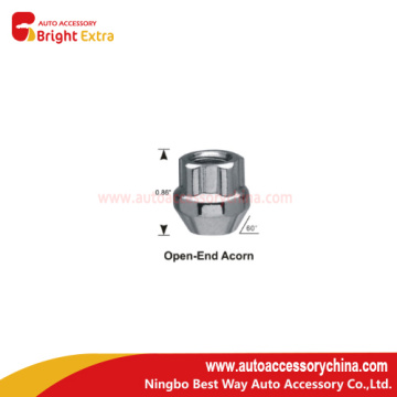 Open End Acorn Wheel Lug Nuts