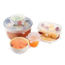 silicone stretch fresh cover Lids for fruit bowl