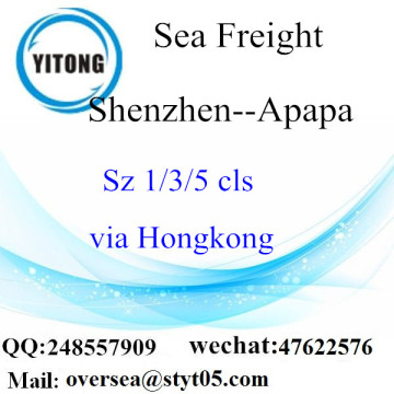 Shenzhen Port LCL Consolidation To Apapa