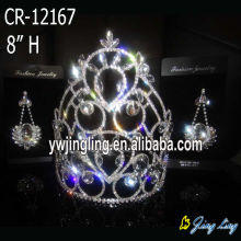 Custom large cheap pageant crowns