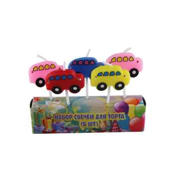 Cars Birthday Candles for Kids Party