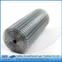 High Quality 1/2 inch Galvanized Welded Mesh