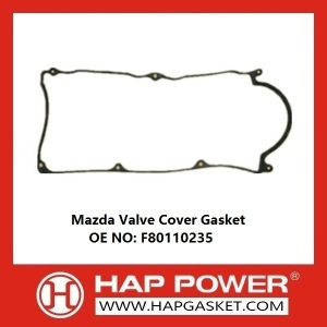 Factory Free sample for Durable Valve Cover Gasket Mazda Valve Cover Gasket F80110235 export to Falkland Islands (Malvinas) Importers