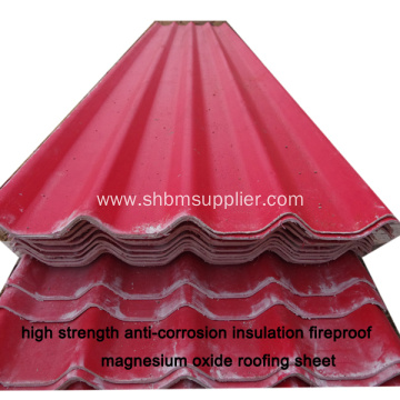 MGO Roofingsheet Better Than Pvc Plastic Roof Tile