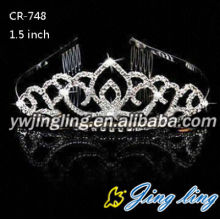 Crystal Cheap Pageant Tiaras Wedding Jewelry