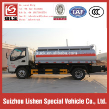 Mini Fuel Tanker Trucks 5000L JAC Oil Tank For Truck
