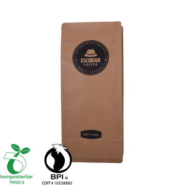 Heat Seal Box Bottom Biodegradable Bread Bag Supplier From China