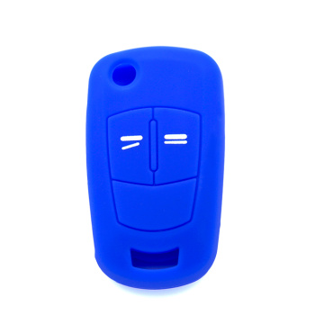 Smart silicone car key shell for Opel